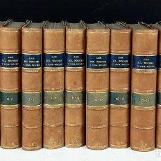 Libros antiguos: EL LIBRO DE LAS MIL NOCHES Y UNA NOCHE. 12 VOLUM.- 23 TOMOS(VER DESCRIP). EDIT. PROMETEO. S/F.. Lote 79099105