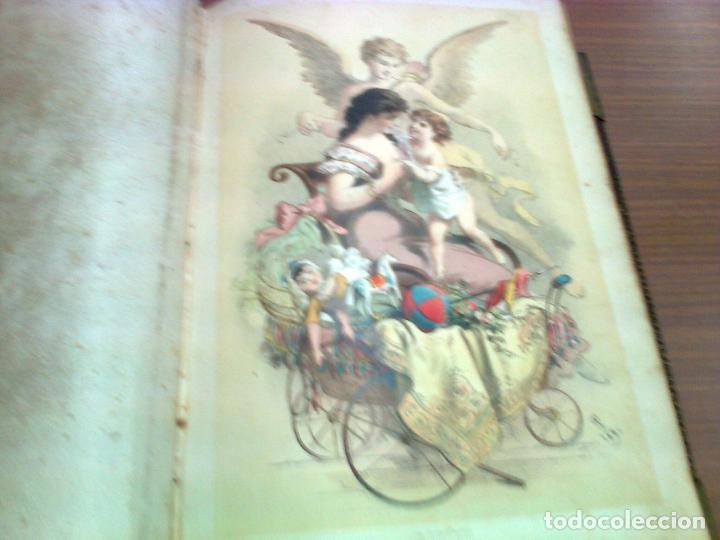 Libros antiguos: RAFAEL DEL CASTILLO LA MUJER AMOR (VOL.1) BARCELONA 1881 MOLINAS HERMANOS EDITORES - Foto 2 - 80216969