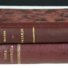 Libros antiguos: NOVELAS ESPAÑOLAS CONTEMPORÁNEAS. 2 TOMOS(VER DESCRIP). B. PÉREZ GALDÓS. LIB.HERNANDO. 1907.. Lote 80722210