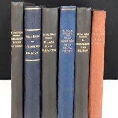 Libros antiguos: EDITORIAL LUX. 6 VOLÚMENES. (VER DESCRIPCIÓN). MIHAI TICAN RUMANO(MICHEL TICAN). 1928.. Lote 80915204