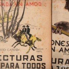 Libros antiguos: ERNESTO CAPENDÚ: DOS CORAZONES PARA UN AMOR - 2 VOLS.(LECTURAS PARA TODOS, 1934). Lote 81029824