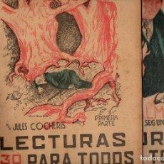 Libros antiguos: JULES COCHERIS : DOS ALMAS - 2 VOLS.(LECTURAS PARA TODOS, 1934). Lote 81030008