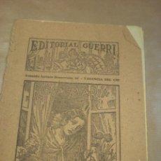 Libros antiguos: ROSA MARÍA, NOVELA DE MARIO D´ANCONA, EDITORIAL GUERRI, FOLLETÍN DE LOS AÑOS 30, CUADERNOS 163-64. Lote 84818064