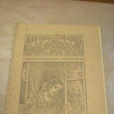 Libros antiguos: ROSA MARÍA, NOVELA DE MARIO D´ANCONA, EDITORIAL GUERRI, FOLLETÍN DE LOS AÑOS 30, CUADERNOS 177-78. Lote 84819204