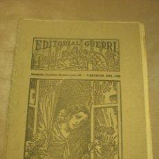 Libros antiguos: ROSA MARÍA, NOVELA DE MARIO D´ANCONA, EDITORIAL GUERRI, FOLLETÍN DE LOS AÑOS 30, CUADERNOS 183-84. Lote 84819688