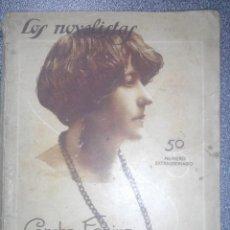 Libros antiguos: CONCHA ESPINA. EL GOCE DE ROBAR. COL. LOS NOVELISTAS. 1928. ILUSTR. DE PENAGOS. PUBLICIDAD.. Lote 85472064
