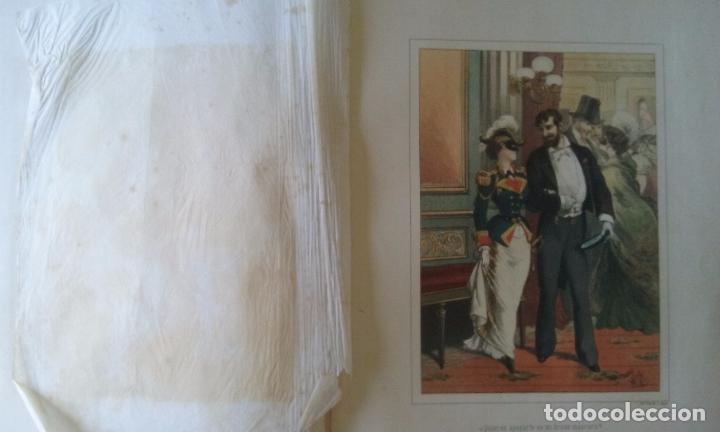 Libros antiguos: HISTORIA DE UNA MUJER ALBUM 50 CROMOS 43X31 CM POR D. EUSEBIO PLANAS 1880 - Foto 16 - 85916536