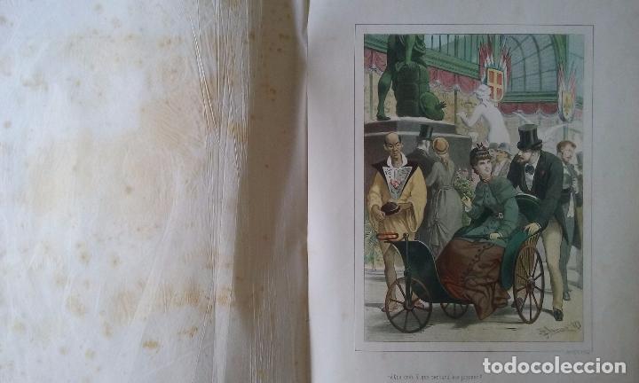 Libros antiguos: HISTORIA DE UNA MUJER ALBUM 50 CROMOS 43X31 CM POR D. EUSEBIO PLANAS 1880 - Foto 17 - 85916536