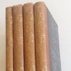 Libros antiguos: MADRID 1849 * LOS 3 MOSQUETEROS Y LA MASCARA DE HIERRO * VIZCONDE DE BRAGELONNE * * 4 VOLÚMENES. Lote 87638432