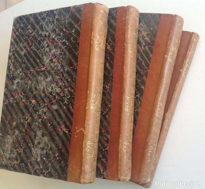 Libros antiguos: Madrid 1849 * Los 3 mosqueteros y La Mascara de hierro * VIZCONDE DE BRAGELONNE * * 4 volúmenes - Foto 3 - 87638432