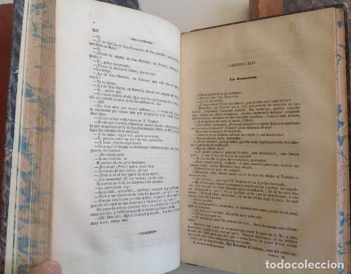 Libros antiguos: Madrid 1849 * Los 3 mosqueteros y La Mascara de hierro * VIZCONDE DE BRAGELONNE * * 4 volúmenes - Foto 9 - 87638432