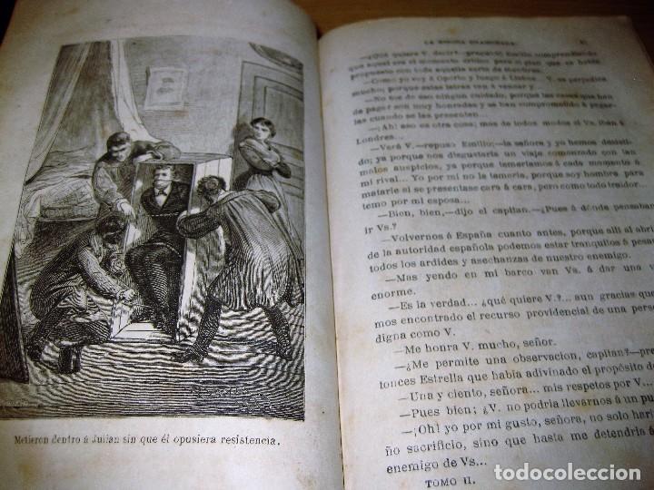 LA ESPOSA ENAMORADA . ANDRES DE ARELLANO . TOMOII. ED J. MOLINAS . 1879 . GRABADOS (Libros antiguos (hasta 1936), raros y curiosos - Literatura - Narrativa - Novela Romántica)