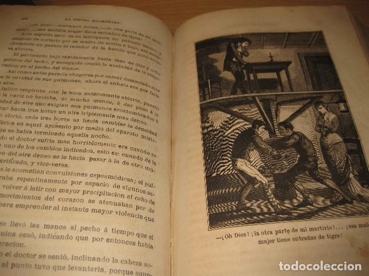 Libros antiguos: la esposa enamorada . andres de arellano . tomoII. Ed j. Molinas . 1879 . grabados - Foto 5 - 87678208