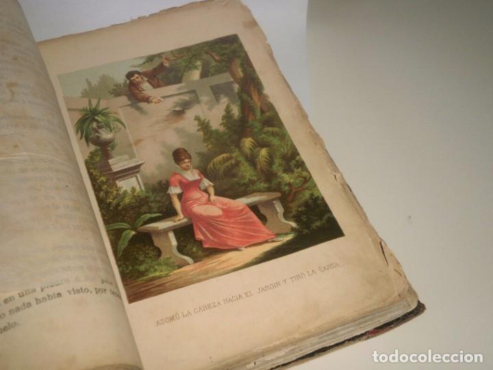 Libros antiguos: Los caballeros del amor (I y II) de Álvaro Carrillo - 1ª Edición, Jaime Seix, 1878 (Barcelona) - Foto 2 - 89489036