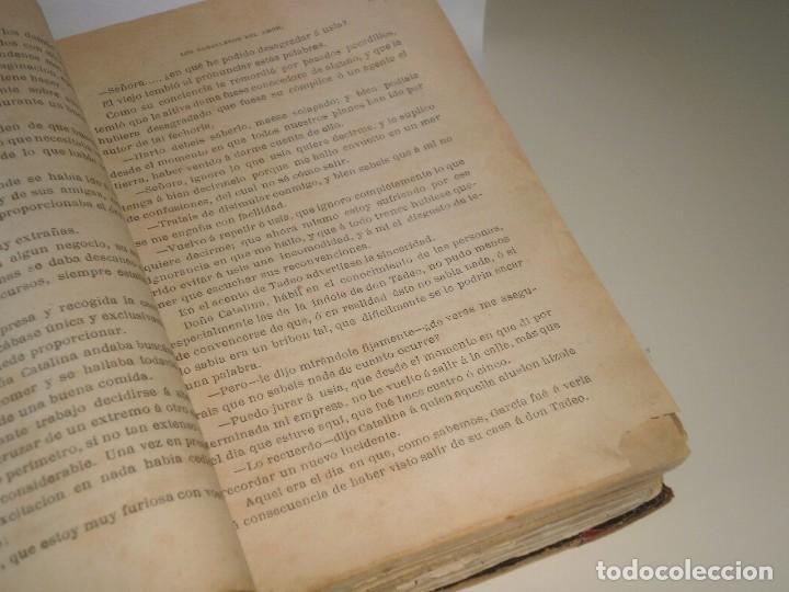 Libros antiguos: Los caballeros del amor (I y II) de Álvaro Carrillo - 1ª Edición, Jaime Seix, 1878 (Barcelona) - Foto 3 - 89489036