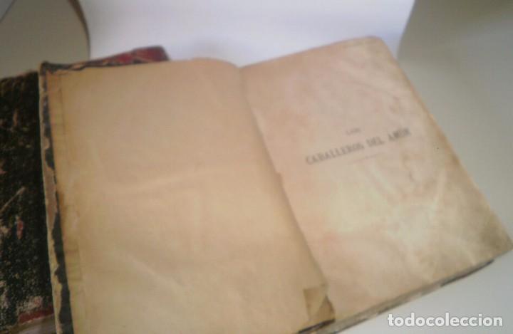Libros antiguos: Los caballeros del amor (I y II) de Álvaro Carrillo - 1ª Edición, Jaime Seix, 1878 (Barcelona) - Foto 5 - 89489036