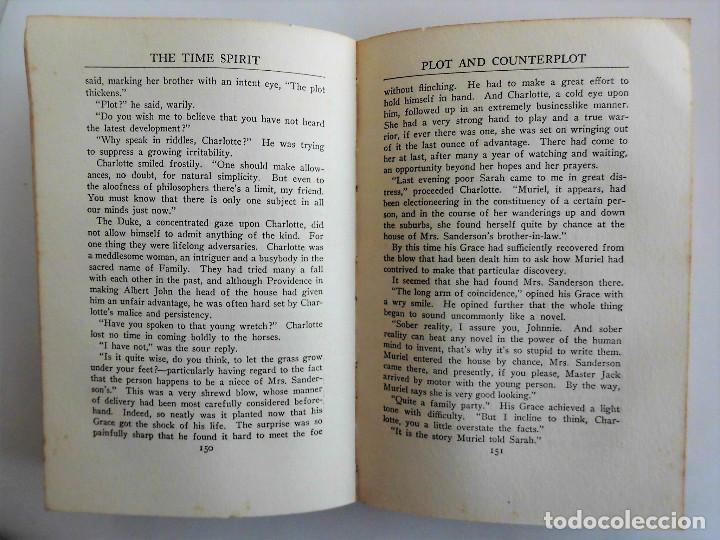 Libros antiguos: PRIMERA EDICIÓN, AÑO 1918: THE TIME SPIRIT - OBRA DE J. C. SNAITH - Foto 7 - 89732064