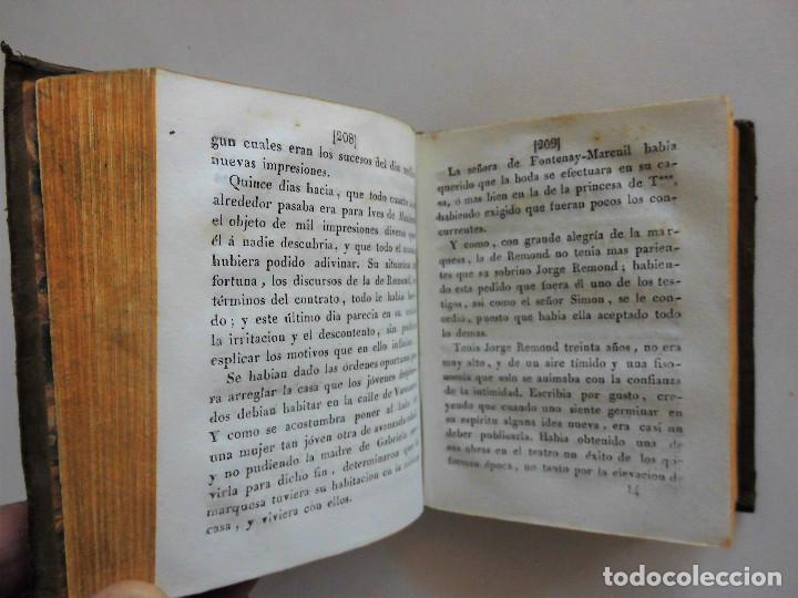 Libros antiguos: GABRIELA O UN CASAMIENTO FELIZ (1844) - DOS TOMOS EN UN VOLUMEN - OBRA COMPLETA - Foto 6 - 90112316