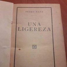 Libros antiguos: 3 NOVELAS ENCUADERNADAS. EDITORIAL COSMÓPOLIS. IMPRENTA SUCESORES DE F. PEÑA CRUZ. Lote 90434154