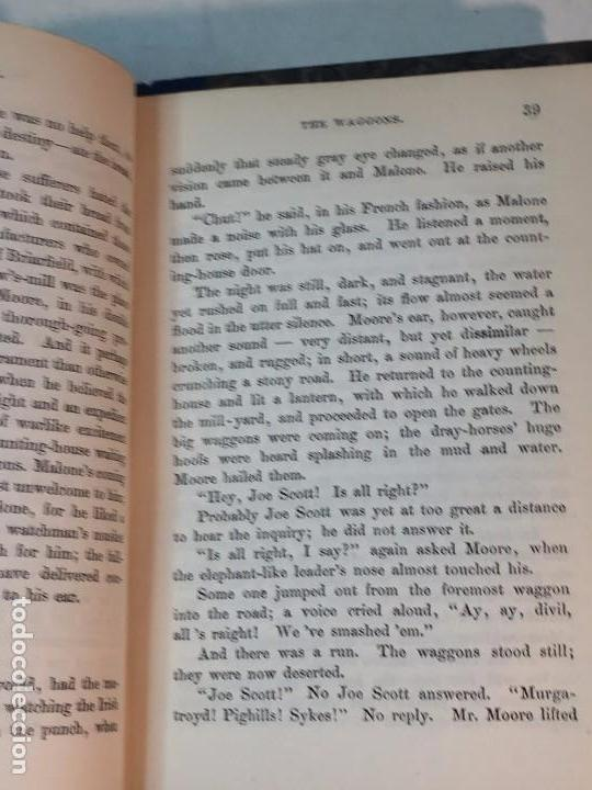 Libros antiguos: Shirley Currer Bell 1849 dos tomos obra completa inglés English roces Charlotte Brontë - Foto 3 - 90911865