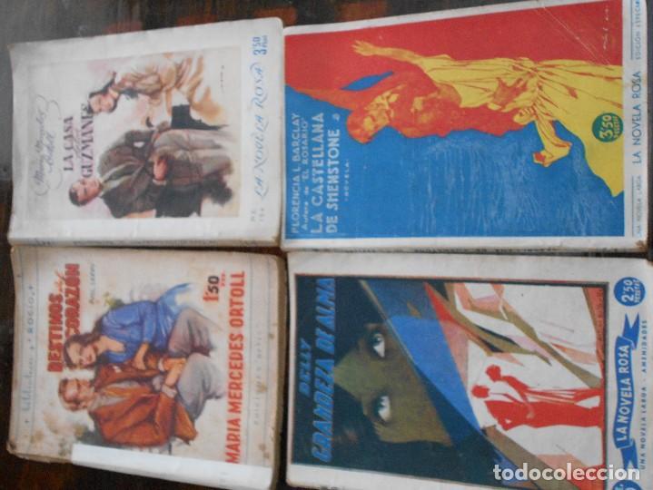 Libros antiguos: LA NOVELA ROSA. LOTAZO DE 28 NOVELAS. VARIOS AUTORES. 3500 GRAMOS. TODA UNA VIDA. MARIA MERCEDES OR - Foto 9 - 95927507