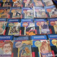 Libros antiguos: COLECCION PUEYO DE NOVELAS SELECTAS. LOTE DE 18 NOVELAS. EDITORIAL PUEYO. 2010 GRAMOS.. Lote 95929787