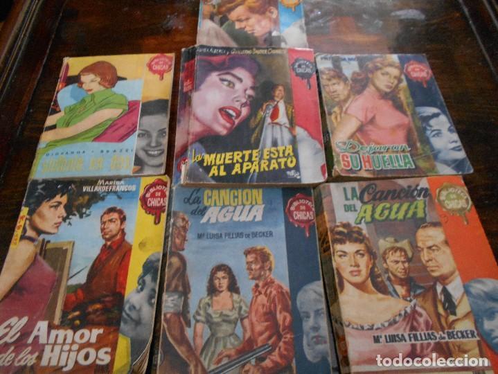 BIBLIOTECA DE CHICAS. LOTE DE 7 NOVELAS. 650 GRAMOS. EL AMOR DE LOS HIJOS. MARISA VILLARDEFRANCOS. (Libros antiguos (hasta 1936), raros y curiosos - Literatura - Narrativa - Novela Romántica)
