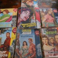 Libros antiguos: BIBLIOTECA DE CHICAS. LOTE DE 7 NOVELAS. 650 GRAMOS. EL AMOR DE LOS HIJOS. MARISA VILLARDEFRANCOS. . Lote 95931615