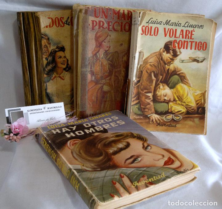 Libros antiguos: 1940-53. LUISA MARÍA LINARES Y CONCHA LINARES BECERRA. LOTE DE CUATRO NOVELAS, PRIMERAS EDICIONES . - Foto 2 - 98029683