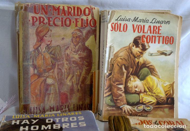 Libros antiguos: 1940-53. LUISA MARÍA LINARES Y CONCHA LINARES BECERRA. LOTE DE CUATRO NOVELAS, PRIMERAS EDICIONES . - Foto 4 - 98029683