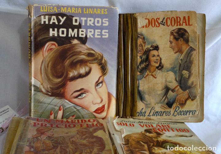 Libros antiguos: 1940-53. LUISA MARÍA LINARES Y CONCHA LINARES BECERRA. LOTE DE CUATRO NOVELAS, PRIMERAS EDICIONES . - Foto 5 - 98029683