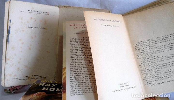 Libros antiguos: 1940-53. LUISA MARÍA LINARES Y CONCHA LINARES BECERRA. LOTE DE CUATRO NOVELAS, PRIMERAS EDICIONES . - Foto 6 - 98029683
