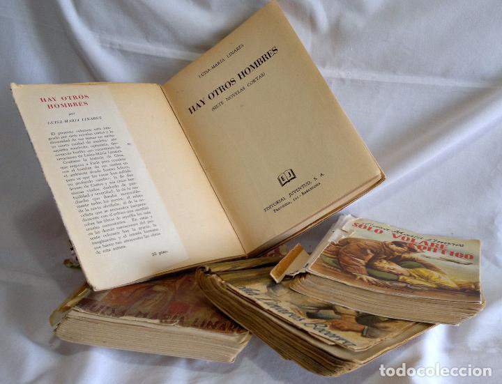 Libros antiguos: 1940-53. LUISA MARÍA LINARES Y CONCHA LINARES BECERRA. LOTE DE CUATRO NOVELAS, PRIMERAS EDICIONES . - Foto 8 - 98029683