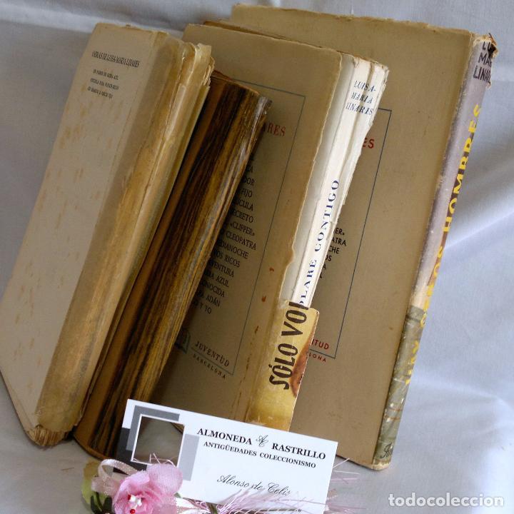 Libros antiguos: 1940-53. LUISA MARÍA LINARES Y CONCHA LINARES BECERRA. LOTE DE CUATRO NOVELAS, PRIMERAS EDICIONES . - Foto 9 - 98029683
