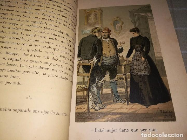 Libros antiguos: RARO 2 TOMOS CORAZÓN DE MUJER POR ÁLVARO CARRILLO -J. SEIX EDITOR- 1891- ILUSTRADOR EUSEBIO PLANAS - Foto 2 - 102768447