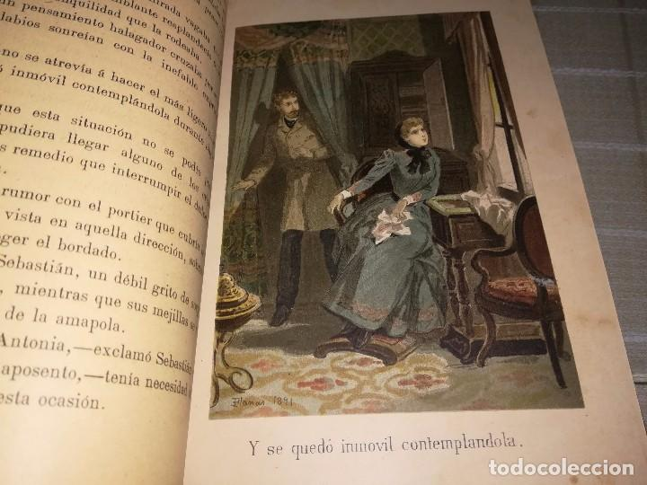 Libros antiguos: RARO 2 TOMOS CORAZÓN DE MUJER POR ÁLVARO CARRILLO -J. SEIX EDITOR- 1891- ILUSTRADOR EUSEBIO PLANAS - Foto 12 - 102768447