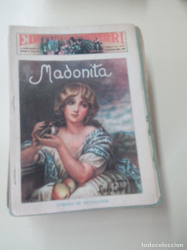 Libros antiguos: MADONITA-NOVELA EN 287 FASCICULOS-LAURO LAURI-EDITORIAL GUERRI- - Foto 2 - 103572475