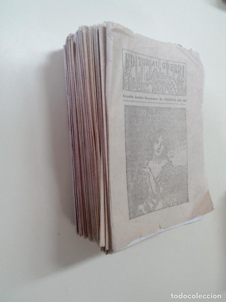 Libros antiguos: MADONITA-NOVELA EN 287 FASCICULOS-LAURO LAURI-EDITORIAL GUERRI- - Foto 3 - 103572475