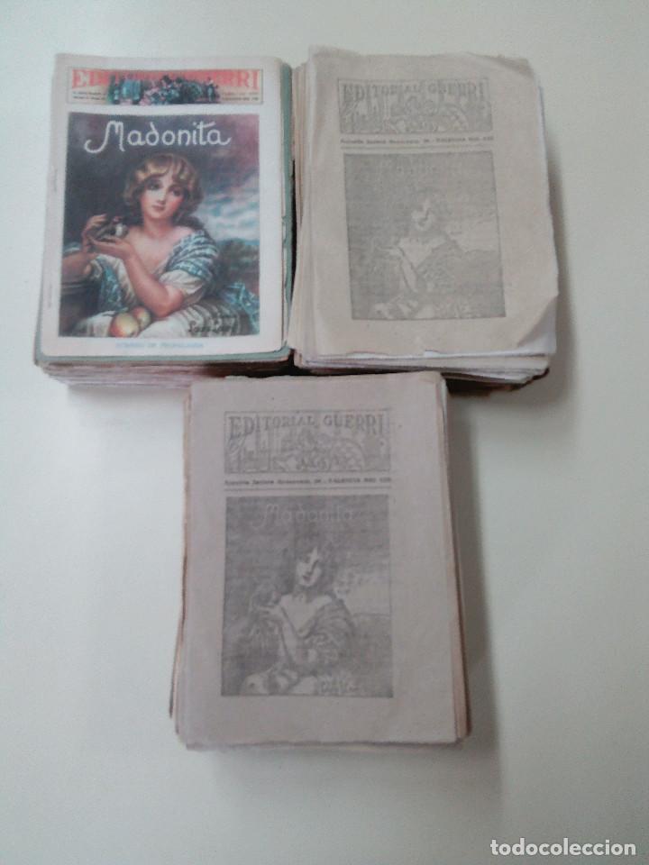 Libros antiguos: MADONITA-NOVELA EN 287 FASCICULOS-LAURO LAURI-EDITORIAL GUERRI- - Foto 4 - 103572475