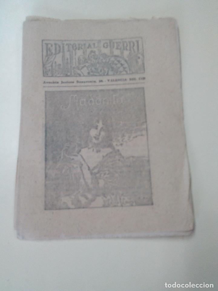 Libros antiguos: MADONITA-NOVELA EN 287 FASCICULOS-LAURO LAURI-EDITORIAL GUERRI- - Foto 5 - 103572475