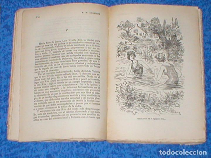 Libros antiguos: LA MODELO de ROBERT W. CHAMBERS 1ª Edición Orig. 1910s FELIU Y SUSANNA EDITORES RARA! THE COMMON LAW - Foto 3 - 108430471