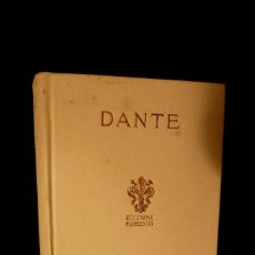 Libros antiguos: LA DIVINA COMEDIA DE DANTE. Lote 108777559