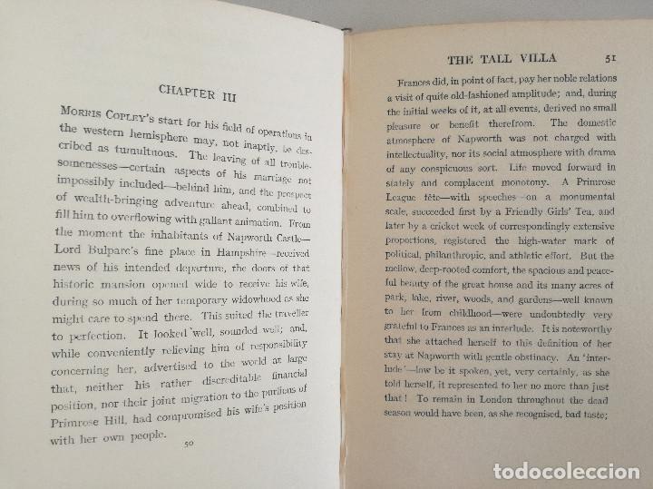 Libros antiguos: THE TALL VILLA (1920) - LUCAS MALET (PSEUDÓNIMO DE MARY ST LEGER KINGSLEY, HIJA DE CHARLES KINGSLEY) - Foto 3 - 108919879