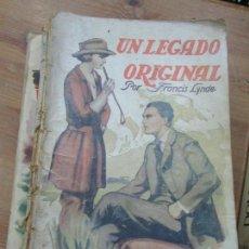 Libros antiguos: LIBRO UN LEGADO ORIGINAL FRANCIS LYNDE COL. AVENTURA 1925 COL. AVENTURA L-1111-296. Lote 109013791