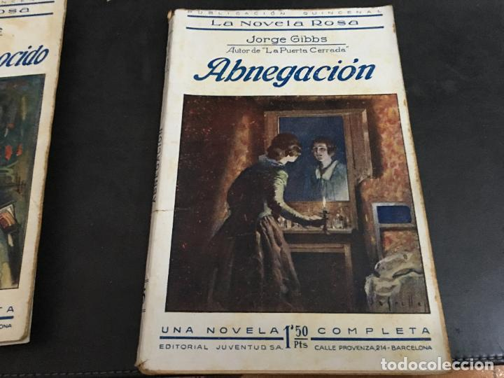 ABNEGACION (JORGE GIBBS) LA NOVELA ROSA Nº 5 (COIB124) (Libros antiguos (hasta 1936), raros y curiosos - Literatura - Narrativa - Novela Romántica)