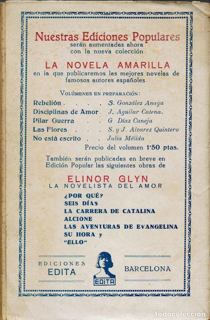 Libros antiguos: LAS FLORES, DE JOAQUÍN Y SERAFÍN ÁLVAREZ QUINTERO. 1930. (14.2) - Foto 2 - 111936343