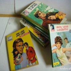 Libros antiguos: NOVELA ROMANTICA ANTIGUAS LOTE DE 10 NOVELAS (#). Lote 112158723
