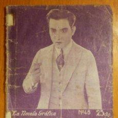 Libros antiguos: NOVEL GRÁFICA - EL PRÍNCIPE SESSUE - POR SESSUE HAYAKAWA - 32 PAG. - 11 CM. X 15 CM. Lote 113055879