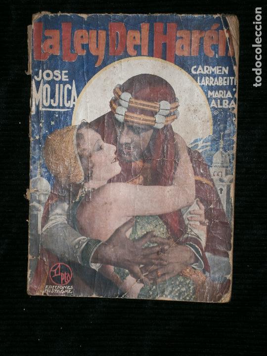F1 LA LEY DEL AREN JOSE MOJICA .NOVELA SEMANAL CINEMATOGRAFICA. (Libros antiguos (hasta 1936), raros y curiosos - Literatura - Narrativa - Novela Romántica)