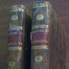 Libros antiguos: LAS REVUELTAS INTESTINAS O SE DOBLE REINADO - VIZCONDE D'ARLINCOURT, 2 TOMOS - BARCELONA, 1836. Lote 119728719